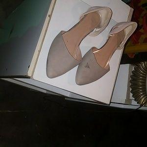 GAP Pointy Toe Tan Flats